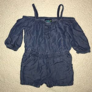 Genuine Kids Denim Romper